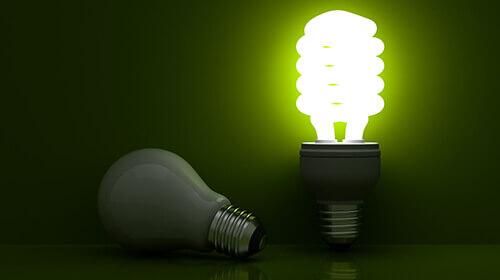 Efficient light bulb