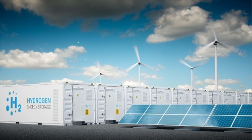 Wind, solar and battery